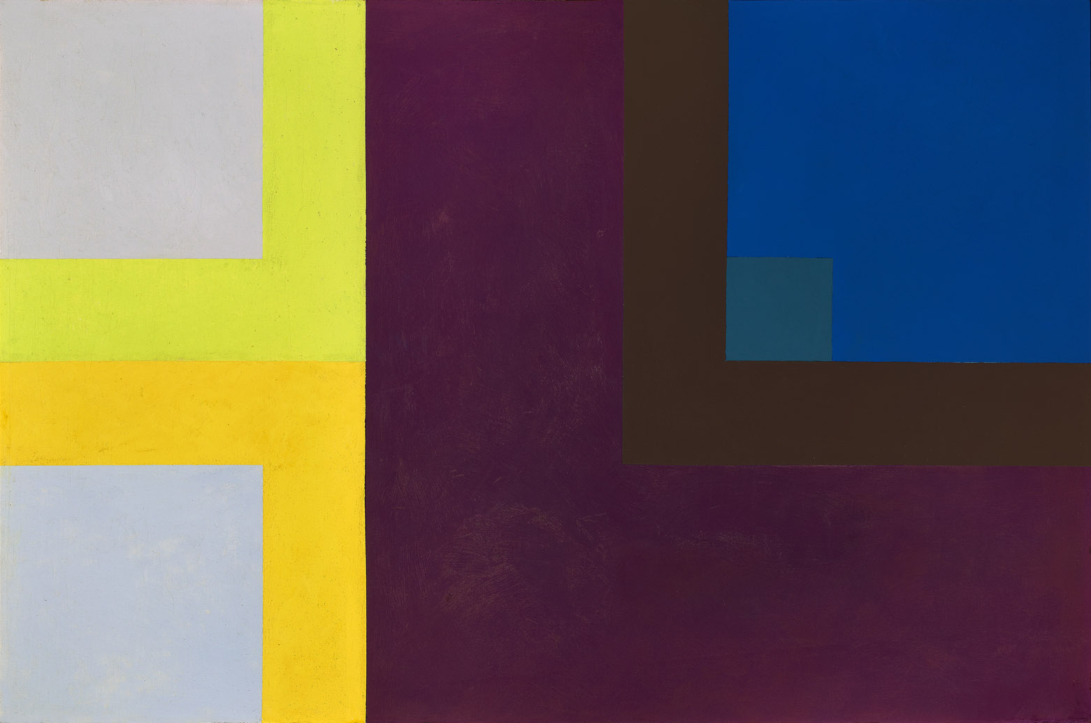 Untitled , 1960  oil on canvas 28 x 42 inches; 71.1 x 106.7 centimeters