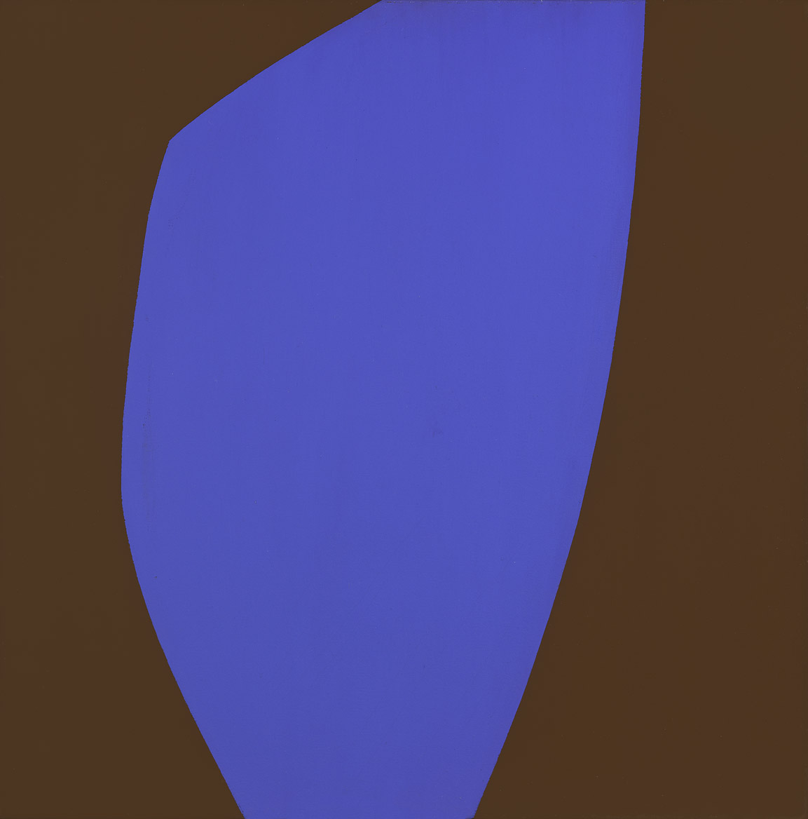 Untitled (Boulder Series) , 1962  Acrylic on canvas 20 x 20 inches; 50.8 x 50.8 centimeters