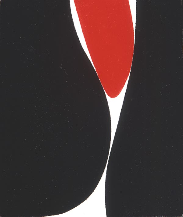 Untitled, (Boulder Series) , 1962  acrylic on canvas 10 x 8 1/2 inches; 25.4 x 21.6 centimeters