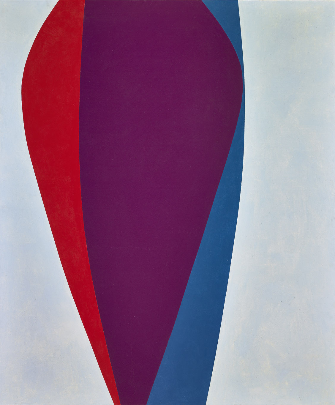 Untitled , 1963  oil and enamel on canvas 72 x 60 inches; 182.9 x 152.4 centimeters