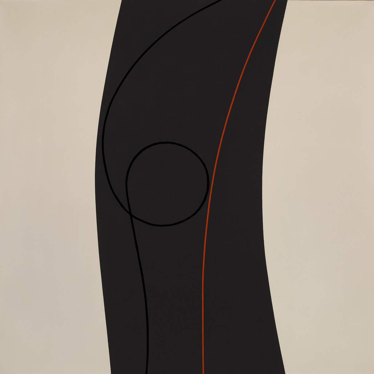 Untitled , 1964  oil and enamel on canvas 60 x 60 inches; 152.4 x 152.4 centimeters