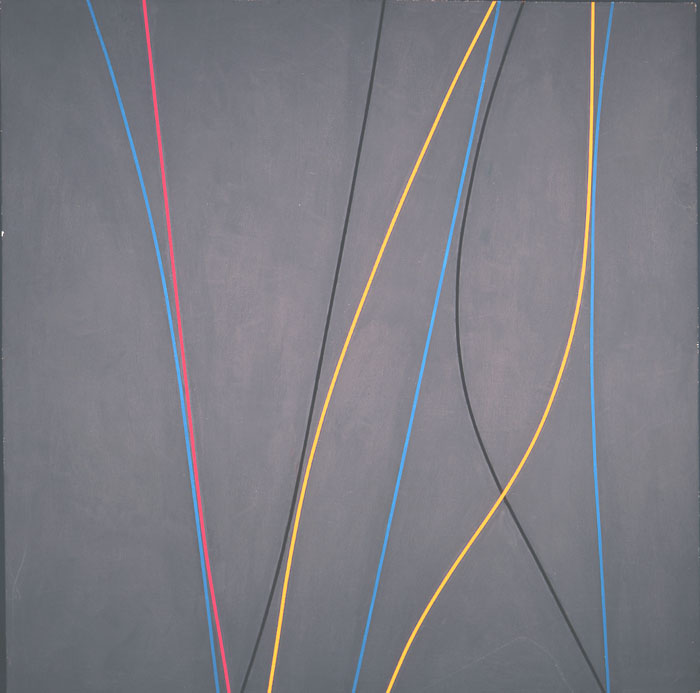 Untitled , 1965 Ed. 40/0  oil on canvas 60 x 60 inches; 152.4 x 152.4 centimeters