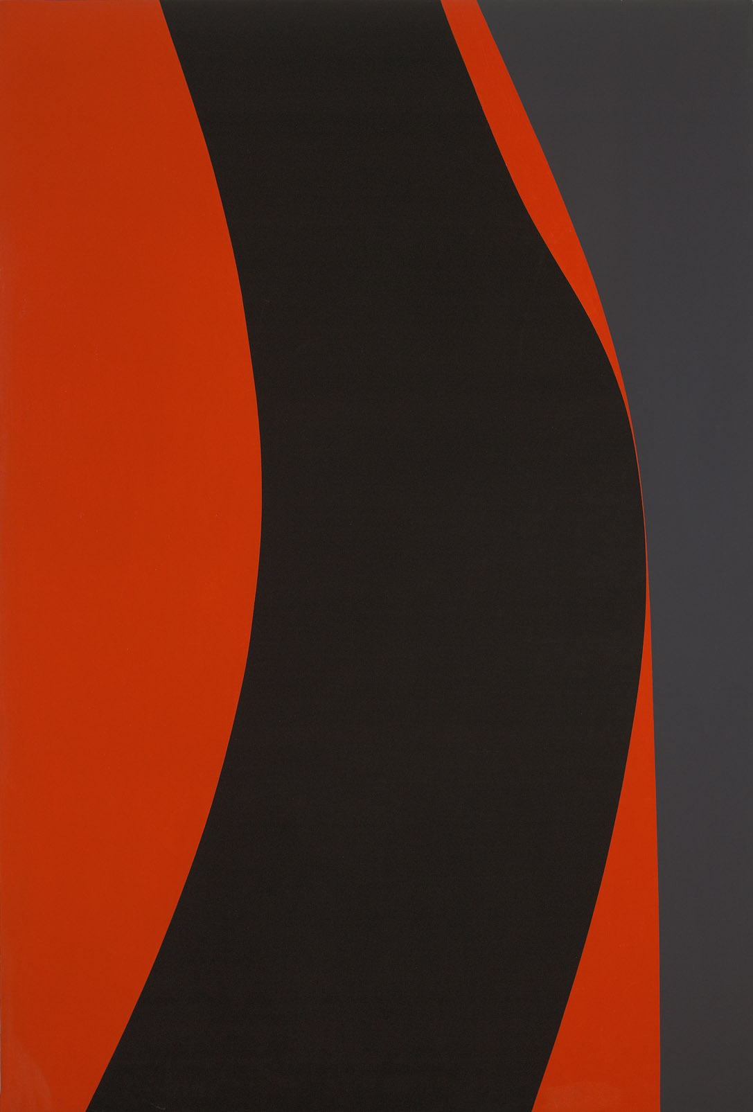 Untitled (July 21) , 1966  acrylic on canvas 90 x 60 inches; 228.6 x 152.4 centimeters