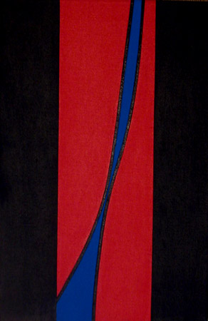 Untitled , 1968  Acrylic on canvas 24 x 16 inches; 61 x 40.6 centimeters