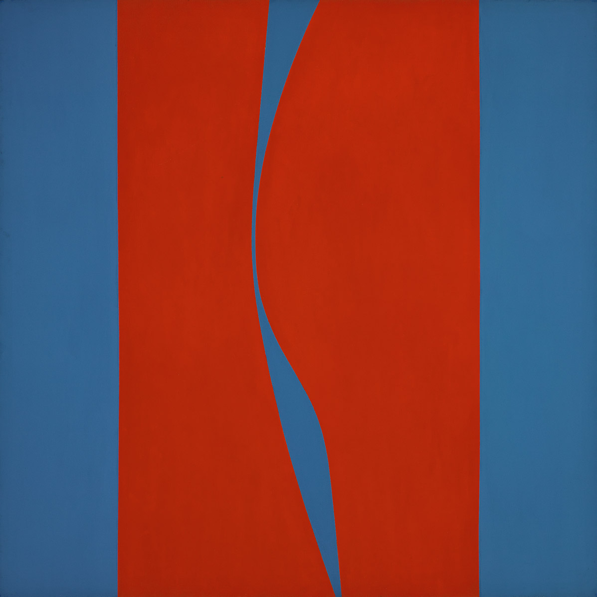 Untitled (March) , 1967  acrylic on canvas 60 x 60 inches; 152.4 x 152.4 centimeters