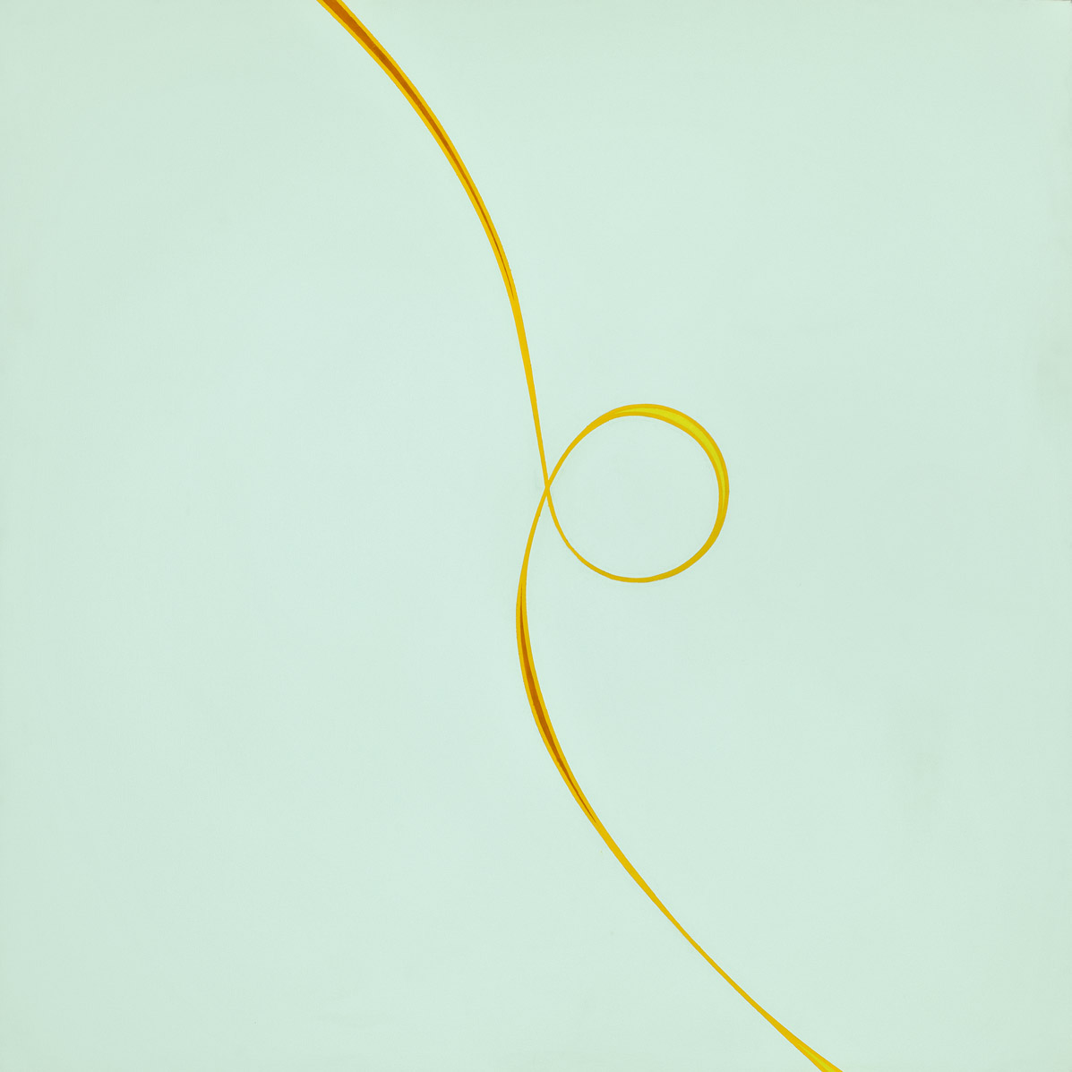 Untitled (February) , 1970  acrylic on canvas 60 x 60 inches; 152.4 x 152.4 centimeters