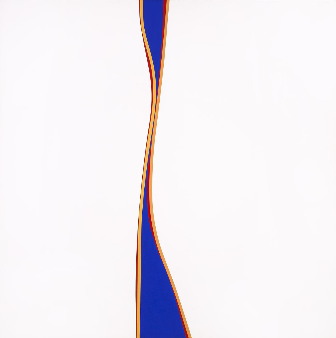 Untitled (January 30) , 1971  acrylic on canvas 60 x 60 inches; 152.4 x 152.4 centimeters