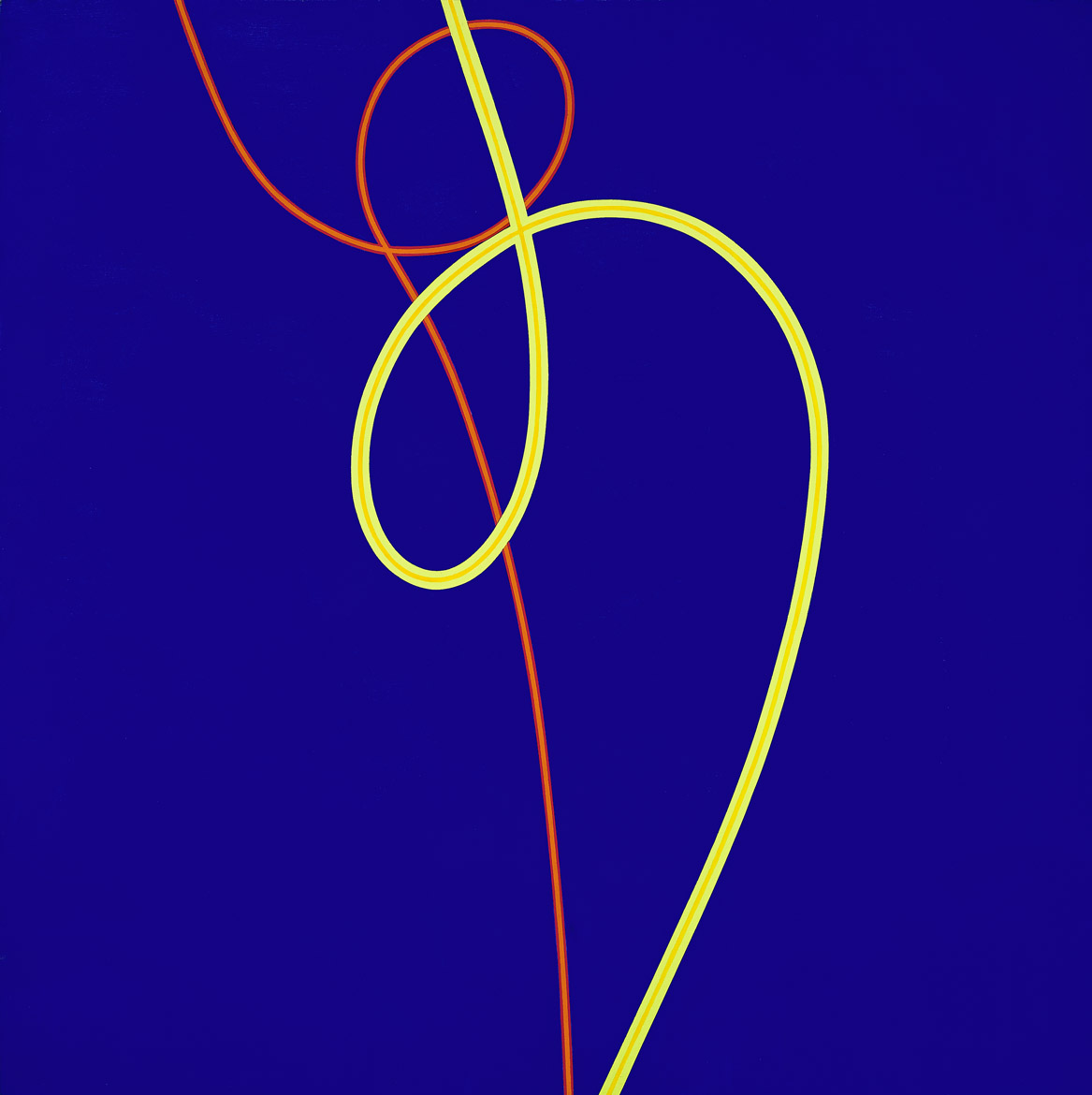 Untitled (March 7) , 1971  acrylic on canvas 60 x 60 inches; 152.4 x 152.4 centimeters