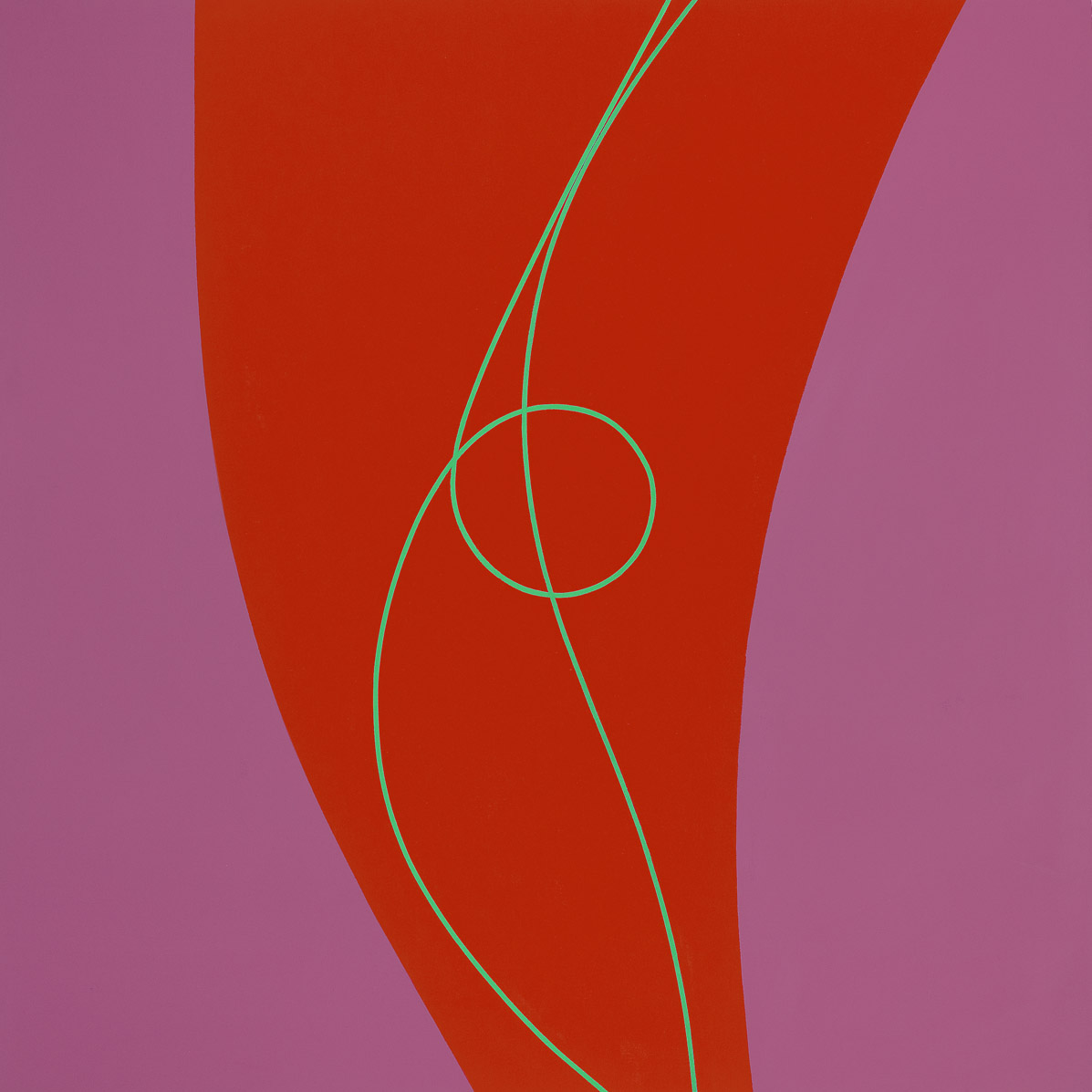 Untitled , 1972  acrylic on canvas 60 x 60 inches; 152.4 x 152.4 centimeters