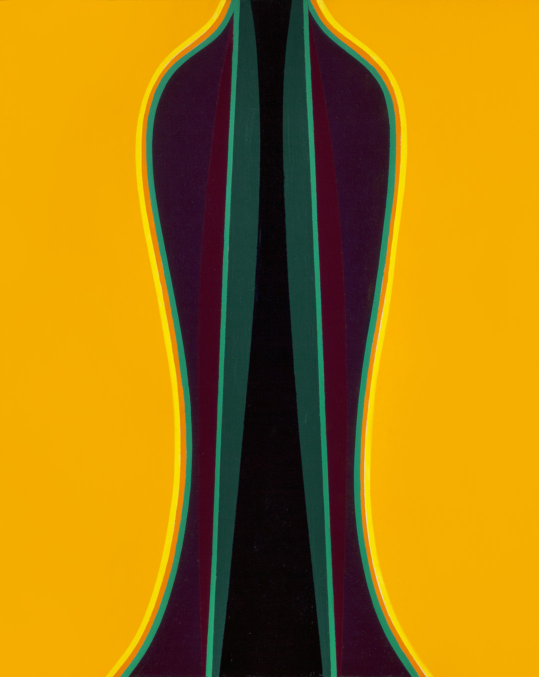 Archimage II , 1976  acrylic on canvas board 30 x 24 inches; 76.2 x 61 centimeters