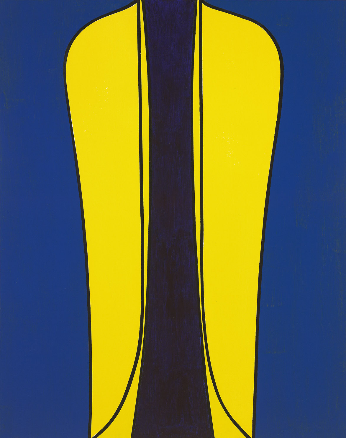 Archimage I , 1976  acrylic on canvasboard 30 x 24 inches; 76.2 x 61 centimeters