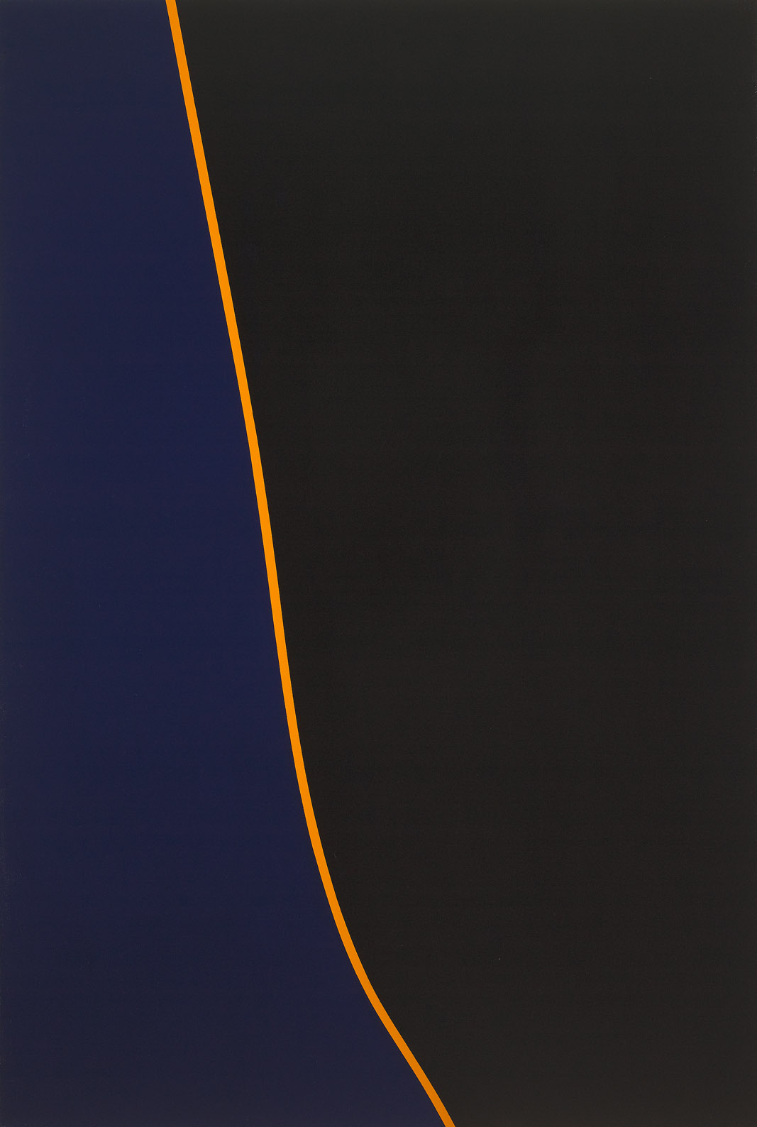 Untitled (March 14) , 1972  acrylic on canvas 60 x 40 inches; 152.4 x 101.6 centimeters