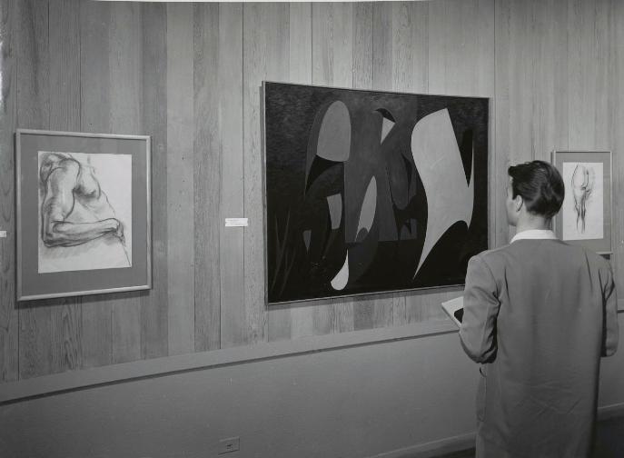 Pasadena Art Institute, California, 1952.