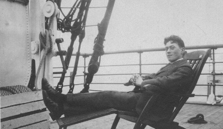 "Lorser Feitelson, S.S. ""Roachambeau"", 1919"