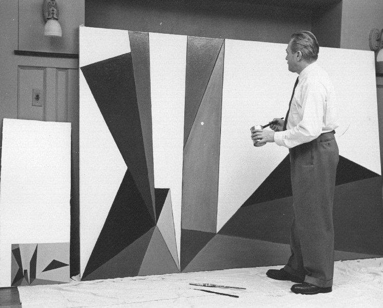 Lorser Feitelson, ca. 1950-51