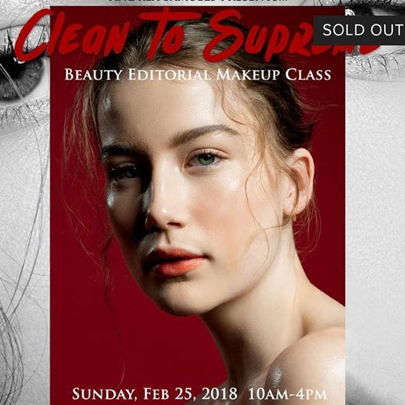 Clean To Supreme II: Beauty Editorial Makeup Class