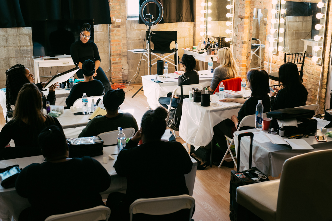 Clean To Supreme II: Beauty Editorial Makeup Workshop. February 25th, 2018