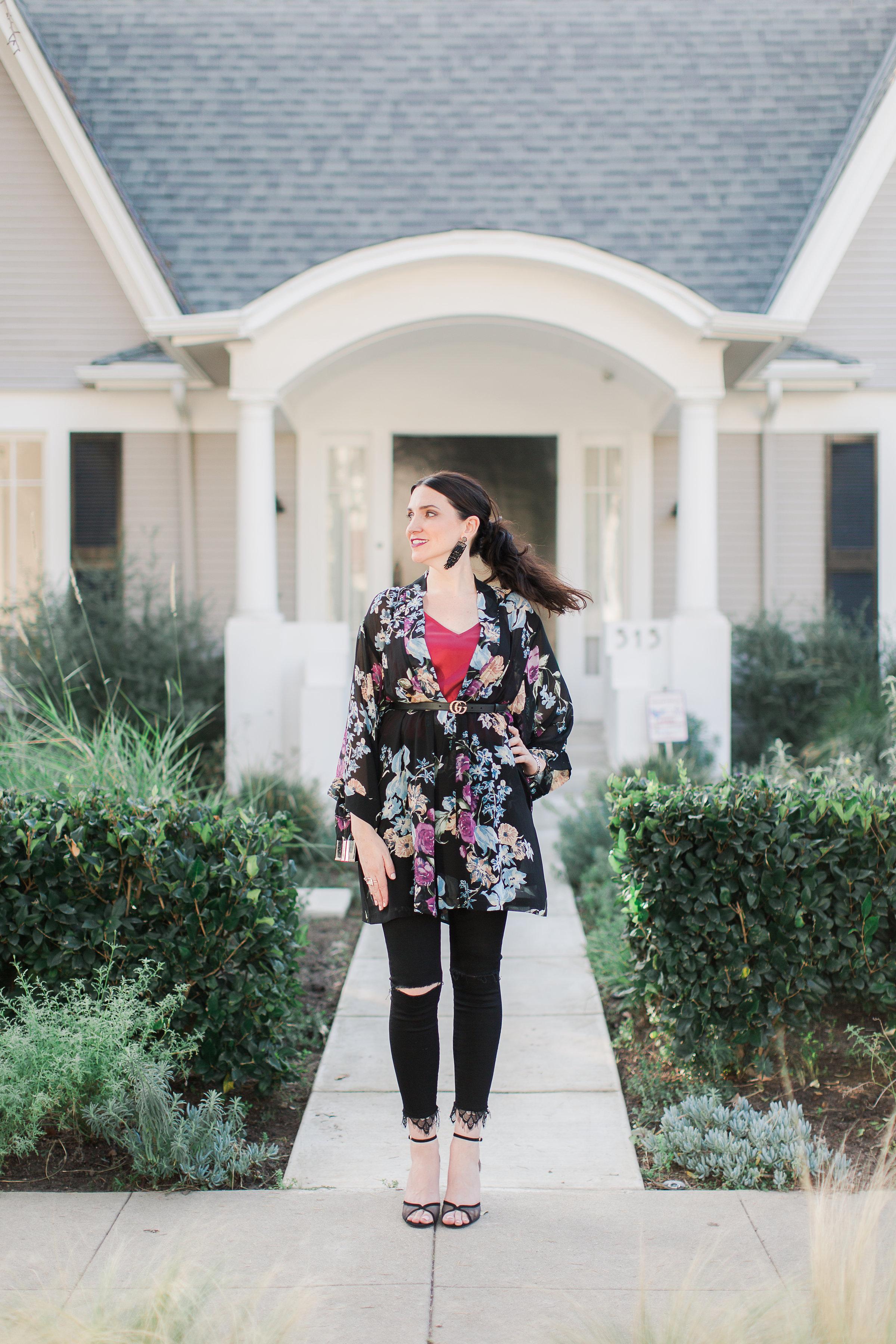 in Rachel Zoe Box of Style Kimono