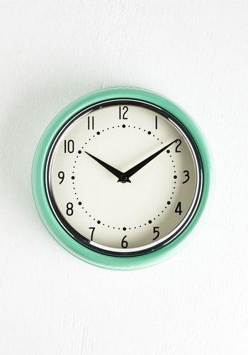 Analog Your Hours Clock @  Mod Cloth  $34.99