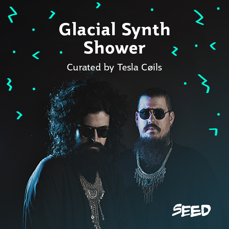 Glacial Synth Shower - Tesla Coils Cover.jpg