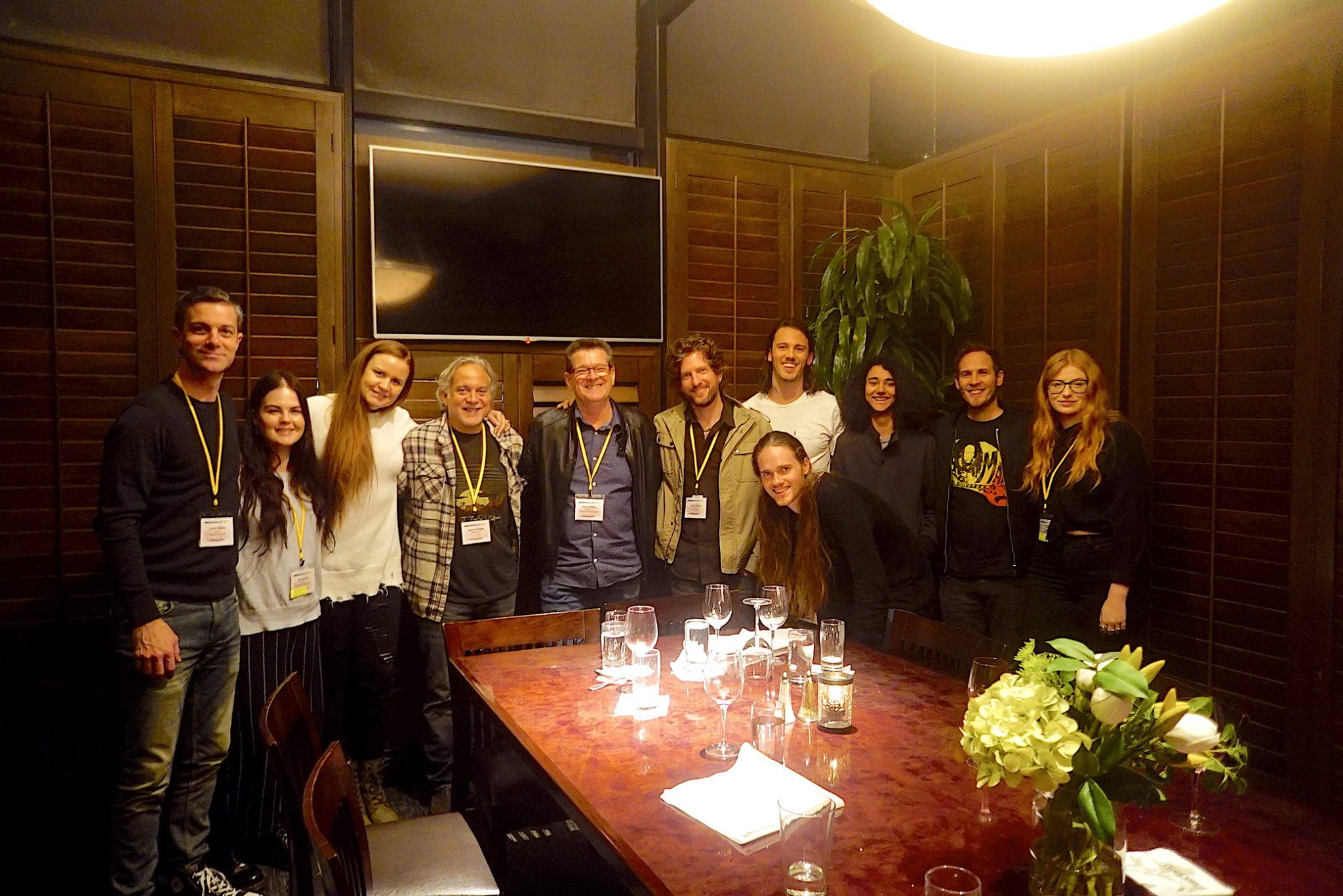 During the TAXI Music Conference, our tour leader extraordinaire Garry Smith outdid himself by organising a private dinner with some heavy hitters in the American Music Industry. Lots of laughs, good food and plenty of incredible advice and information. It was also great to catch up with BPM alumni Jessie Jess!