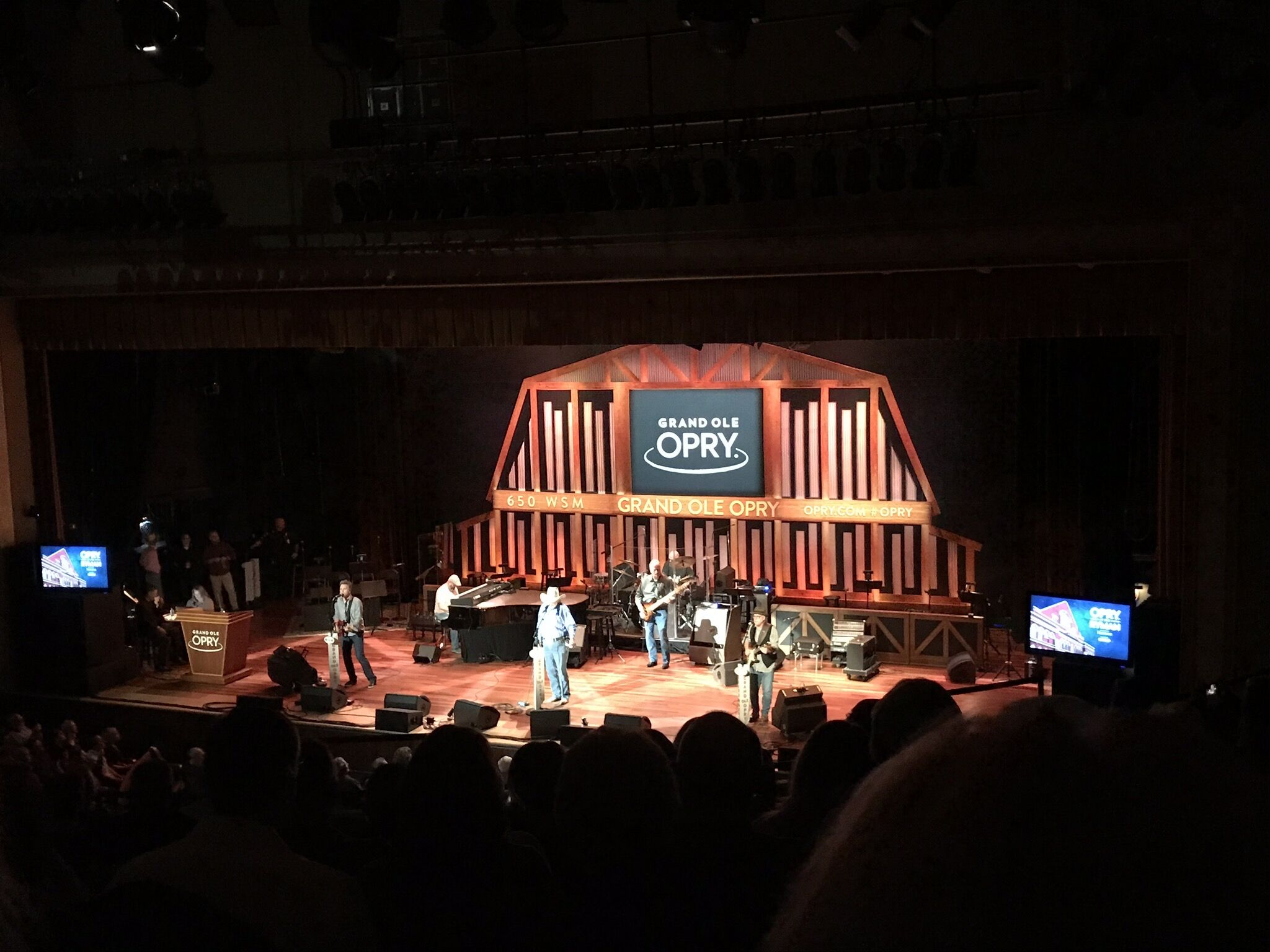 The Grand Ole Opry in Nashville, Tennessee USA.