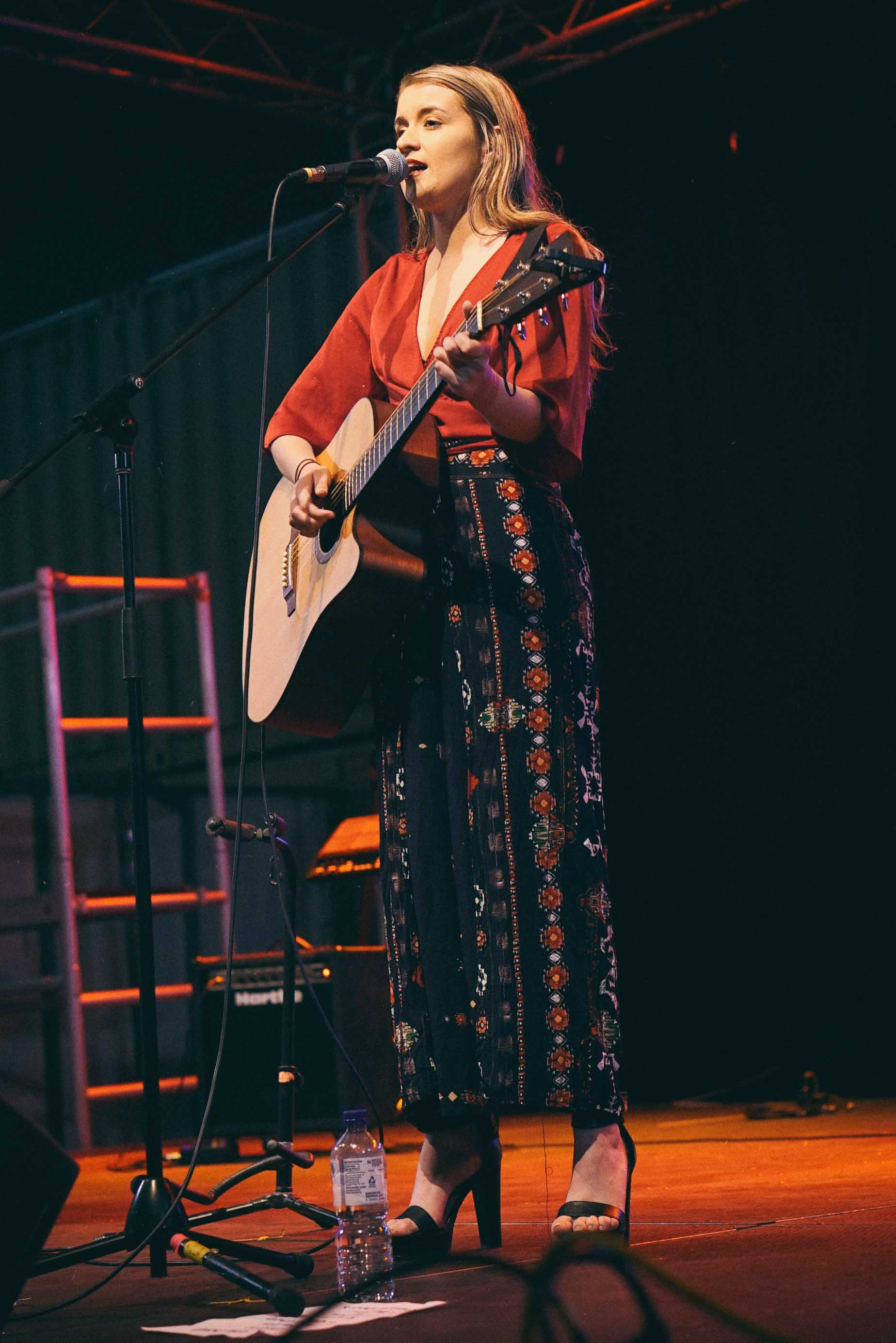 Emily Jane performing at NightQuarter 2018