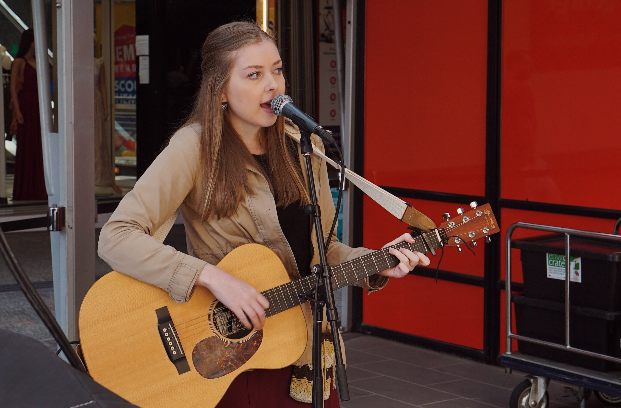Kaitlyn Martin at City Sounds 2018