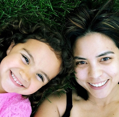 Samantha and her daughter