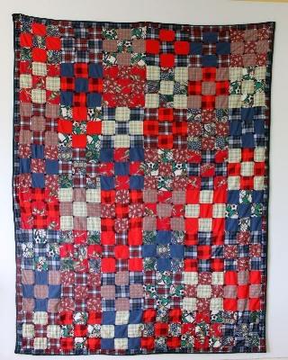 Christa's First Quilt!