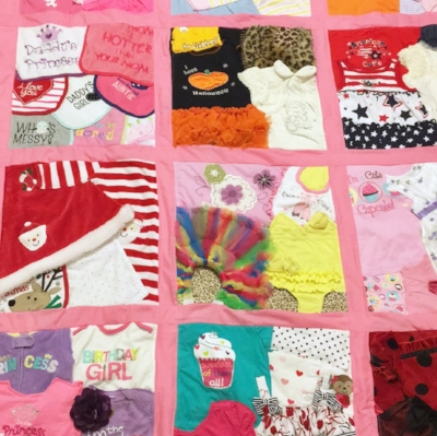 Baby Clothes Crazy Quilt