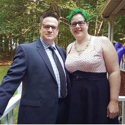 Andi and her husband Paul