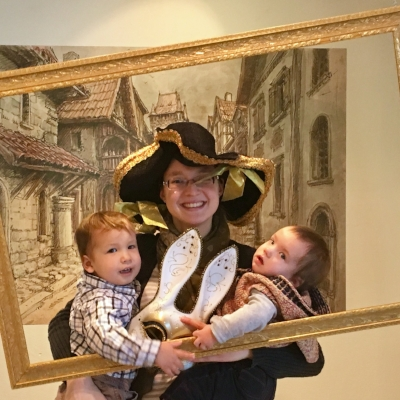 Photos weren't allowed in the Rembrandt Exhibition, but they did have a fun Rembrandt Photo Booth!