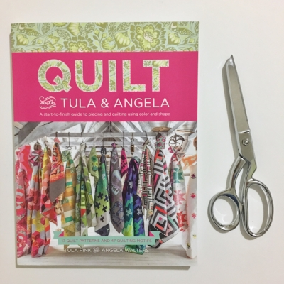 Quilt with Tula and Angela by Tula Pink and Angela Walters