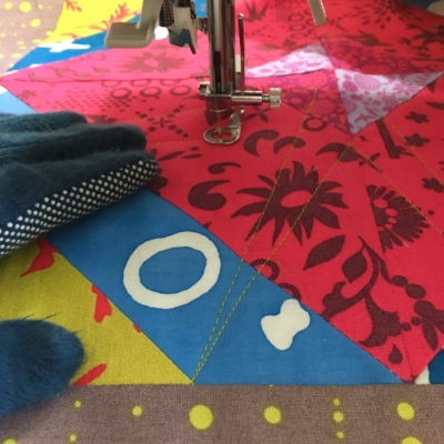 Practicing my quilting