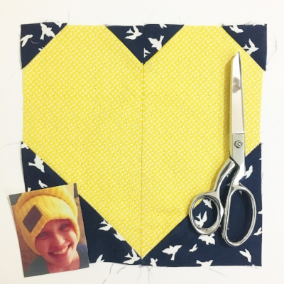Smiley Kylie and my first Heart Block