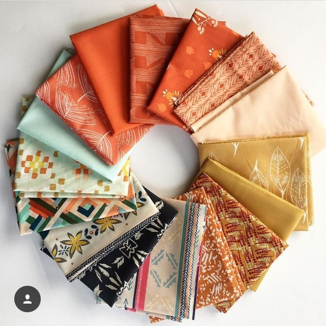 Mathew is also a Stash Fabrics Design Star Finalist-- this was his most recent curated bundle. I'm obsessed.