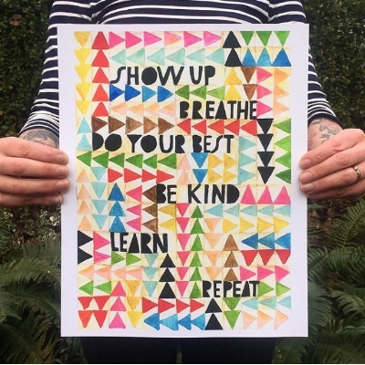 by Lisa Congdon, Image from her Instagram @lisacongdon