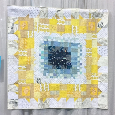 """""""Quilt One Half"""" by Sarah Lowry. The colors. The improv. LOVE. Plus, this quilt is a powerful message about women's right to equality."""
