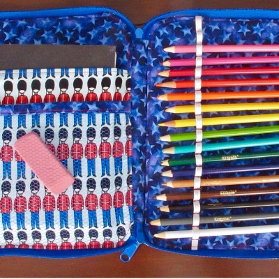 Look at this sweet Creative Maker Supply Case that Jen made!