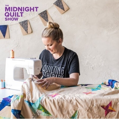 Do you watch The Midnight Quilt Show on Instagram? You should!!