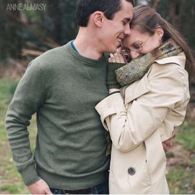 I can't resist a little #flashbackfriday-- Hubster and I at our engagement shoot a few months before we got married