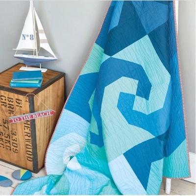 Wave Quilt by Stephanie Kendron and Joanna Marsh