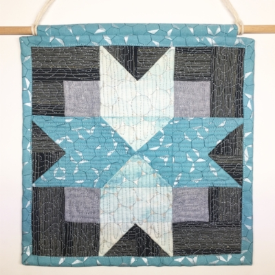 North Star Quilt by HollyAnne Knight of String and Story