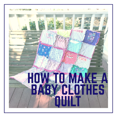 How to Make a Baby Clothes Quilt with HollyAnne Knight of String and Story