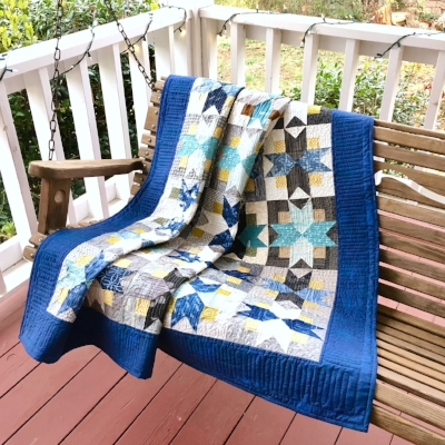 Free North Star Pattern by HollyAnne Knight of String and Story