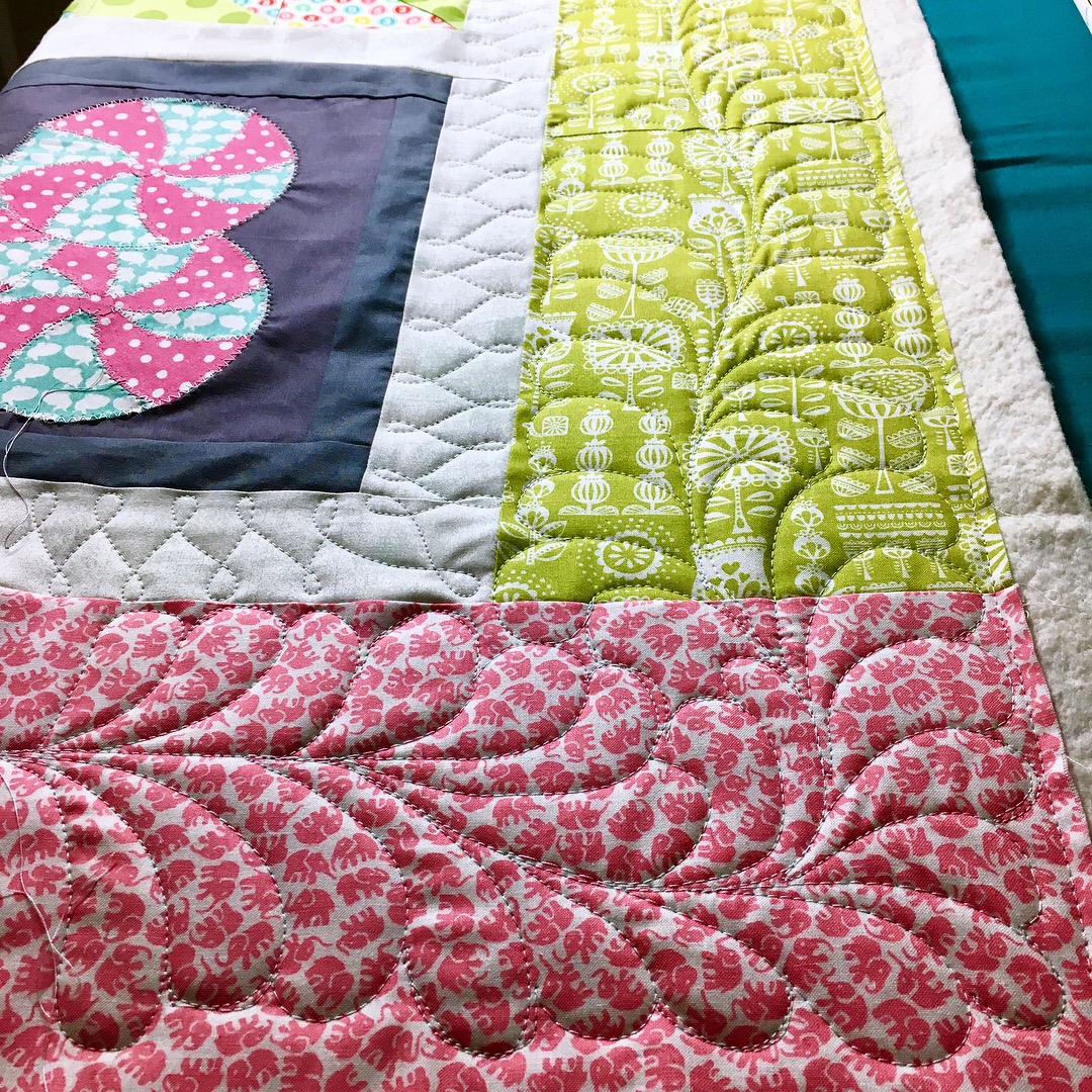 Intro to Quilting Feathers with HollyAnne Knight of String & Story