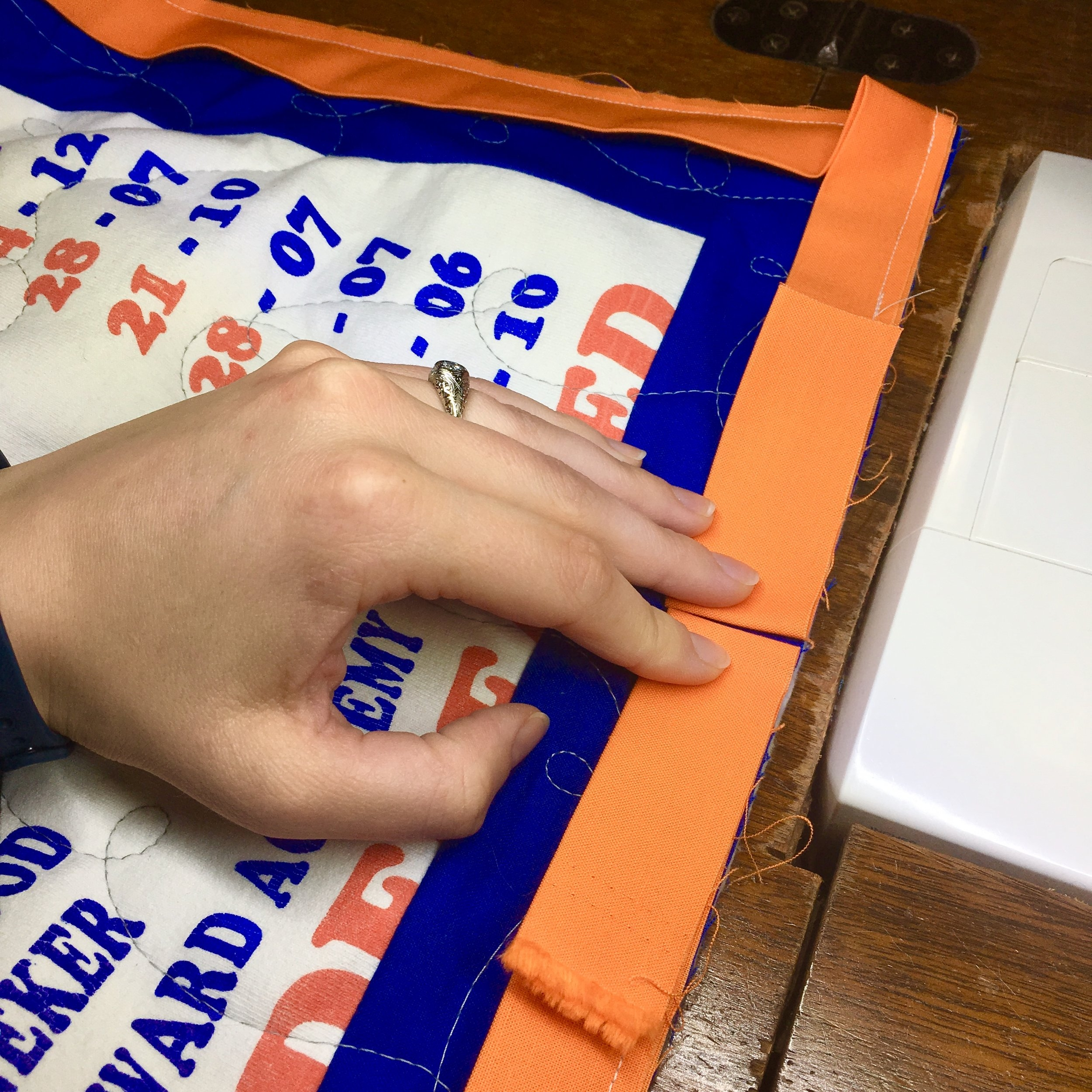 How to Bind a Quilt with HollyAnne Knight of String & Story