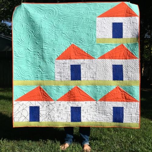 Creative Neighbors - Modern Sewcialite BOM with HollyAnne Knight of String & Story