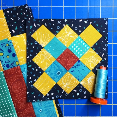 Granny Squares for the Moda Bakeshop Choose Your Own Adventure QAL by HollyAnne Knight of String & Story